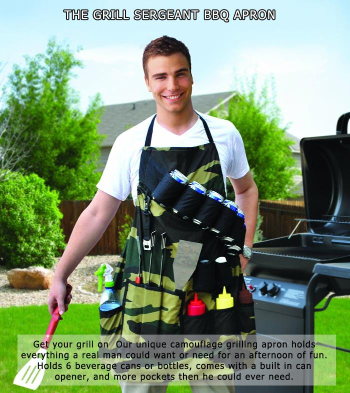 7 The Grill Sergeant BBQ Apron