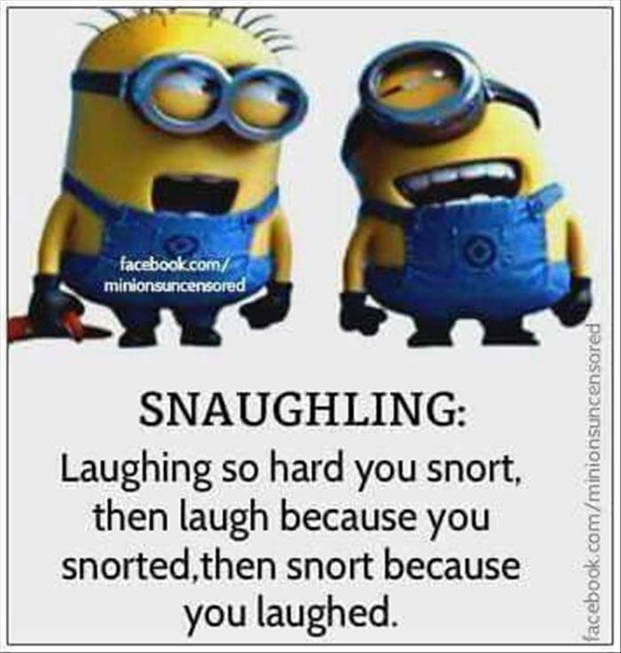 snaughing
