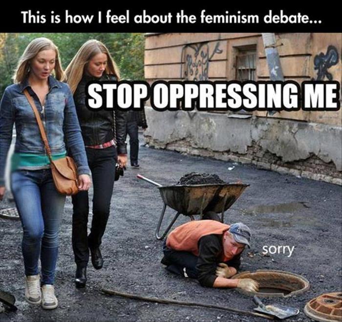 stop oppressing me