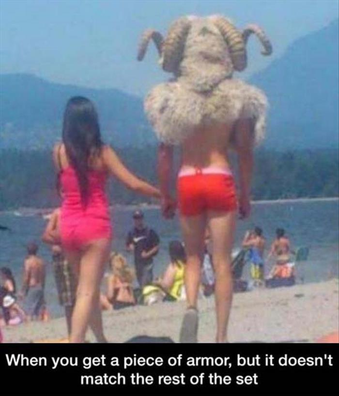 the armor