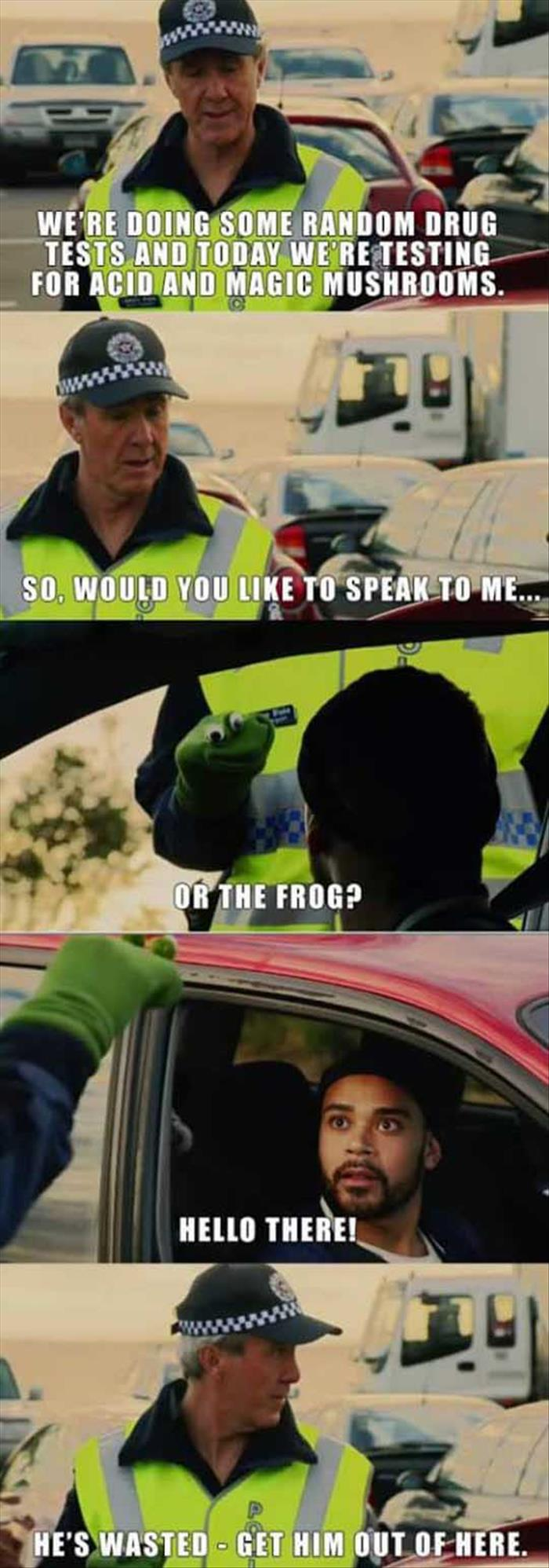 the funny drug test