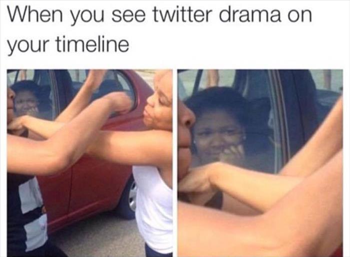 twitter drama