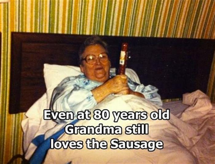 you go grandma