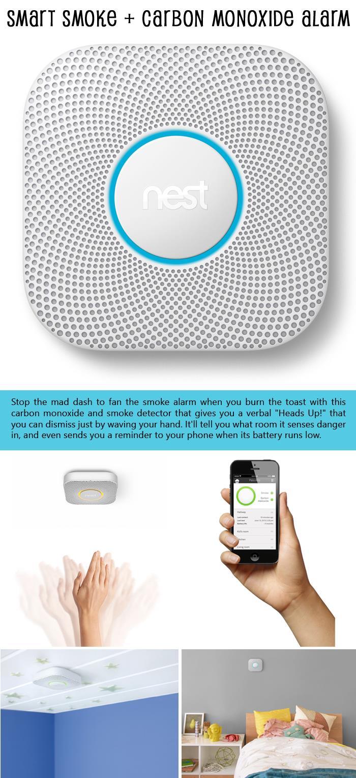 Smart Smoke and Carbon Monoxide Alarm