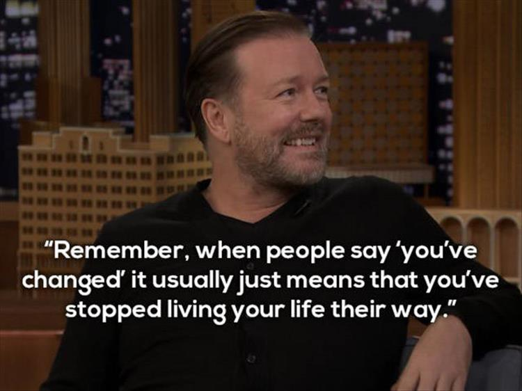 Best Ricky Quotes Ricky Gervais's Best Quotes 15 Pics Best Ricky Quotes
