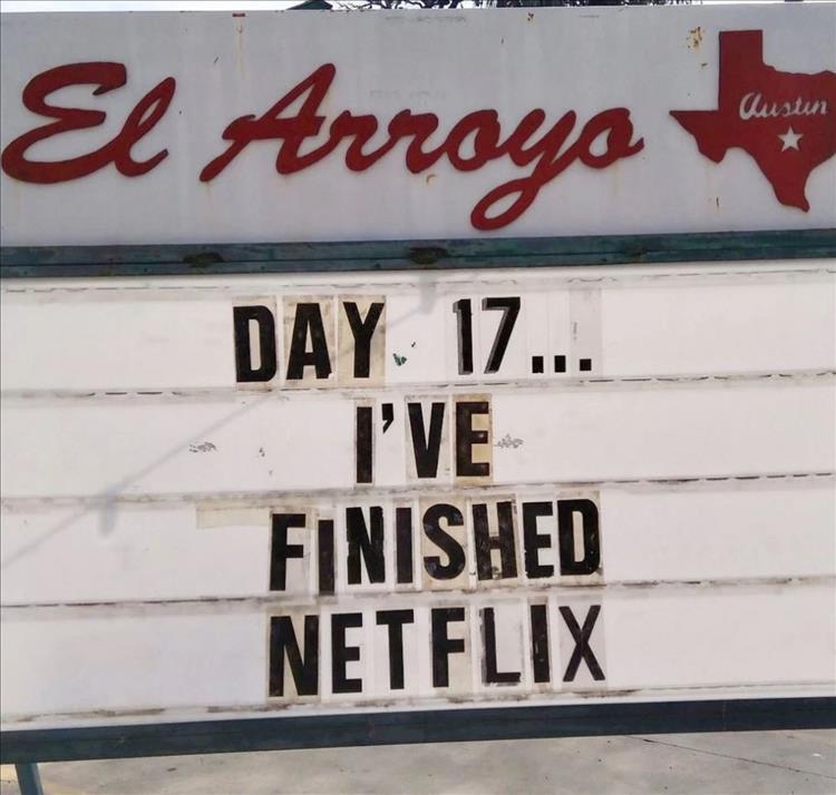 a finished netflix - Dump A Day